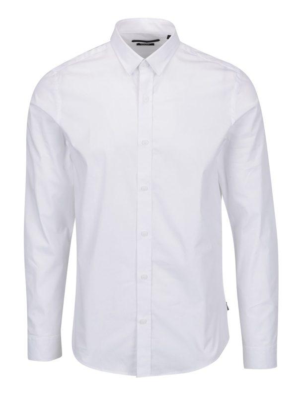 Biela formálna extra slim košeľa ONLY & SONS Alfredo