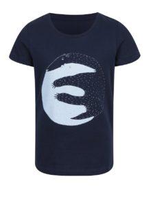 """""""Dobré"""" tmavomodré dievčenské tričko pre Care"""