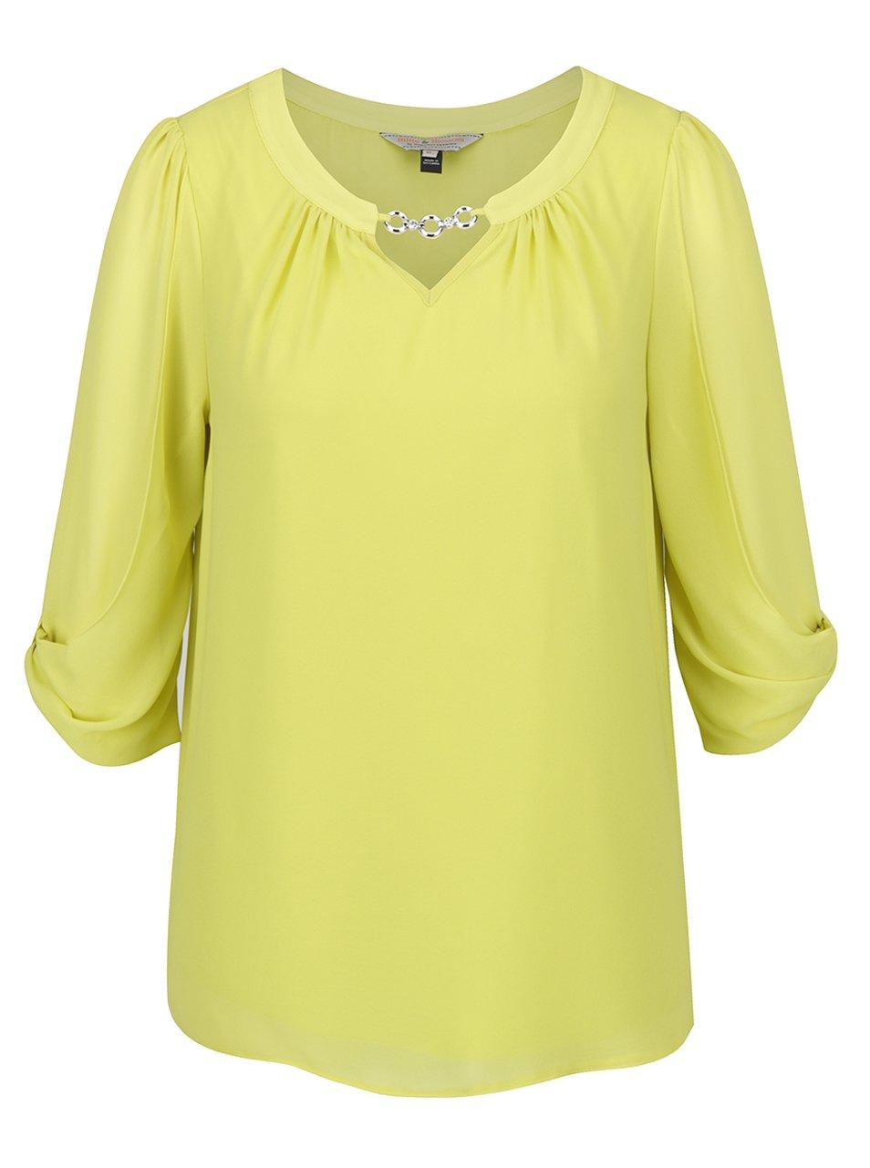 e92b677e318b Zelená blúzka s aplikáciou v striebornej farbe Billie   Blossom ...
