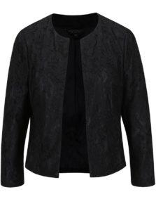 Čierne čipkované sako Dorothy Perkins