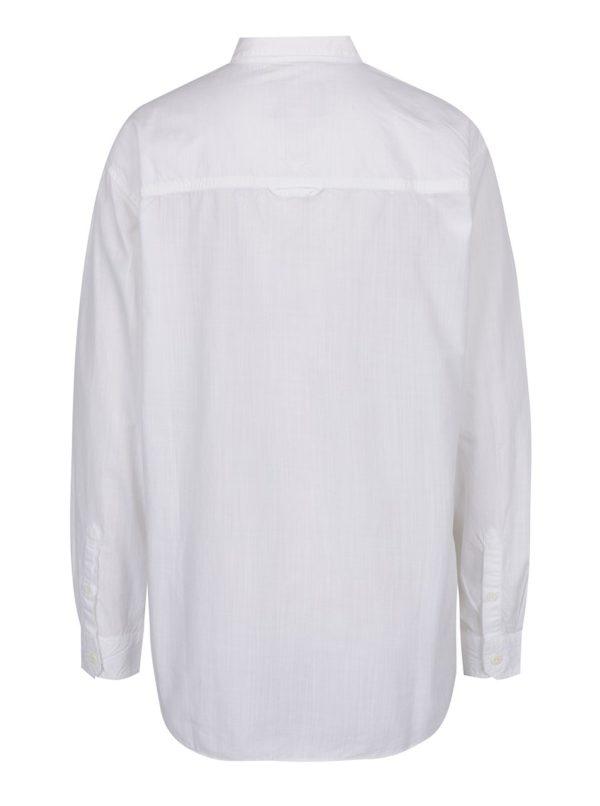 Biela dámska košeľa voľného strihu BUSHMAN Miami