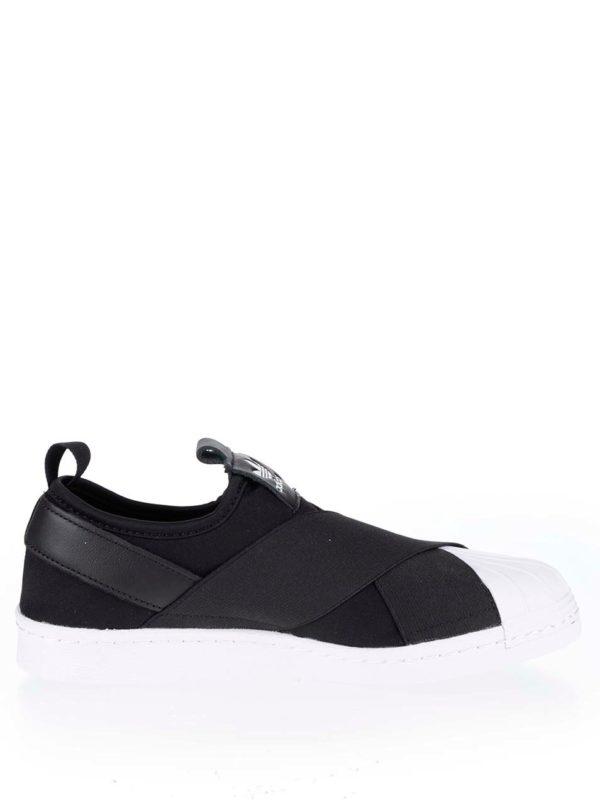 Čierne pánske slip on tenisky adidas Originals