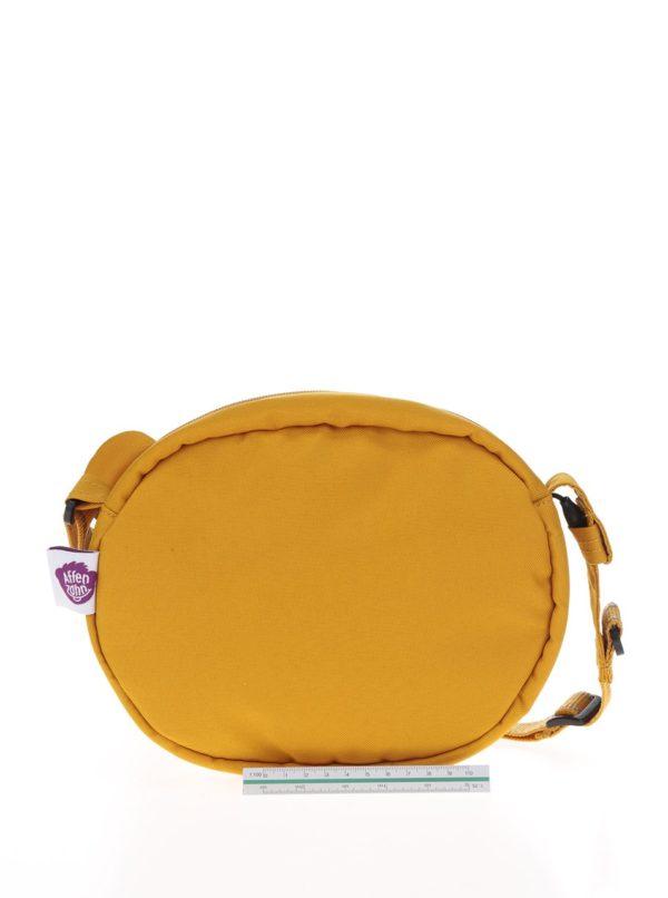 Oranžová detská crossbody taška v tvare tigra Affenzahn 2l