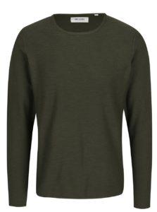 Tmavozelený tenký sveter ONLY & SONS Paldin