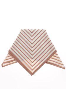 Béžovo-krémová vzorovaná šatka Pieces Nivy