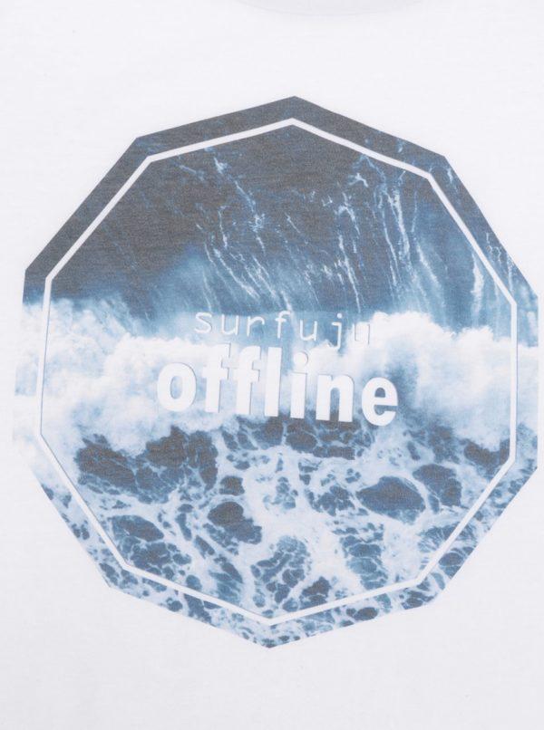 Biele unisex tielko ZOOT Originál Surfuju offline