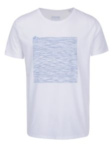 Biele pánske tričko ZOOT Originál Offline lines