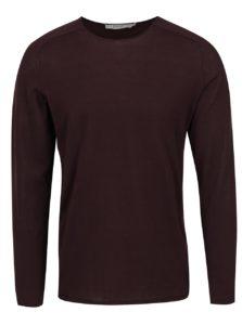 Vínové tričko s dlhým rukávom Jack & Jones Premium Jamie