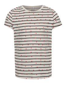 Béžové dievčenské pruhované tričko name it Similar