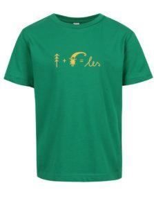 """""""Dobré"""" zelené detské tričko pre Asociáciu lesných MŠ"""
