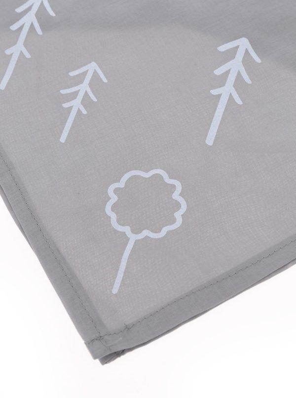 """""""Dobrá"""" sivá šatka pre Asociáciu lesných MŠ"""