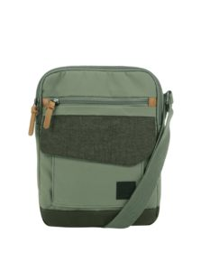 Zelená pánska crossbody taška na tablet Case Logic LoDo