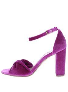 Ružové smotanové sandále na podpätku Dorothy Perkins