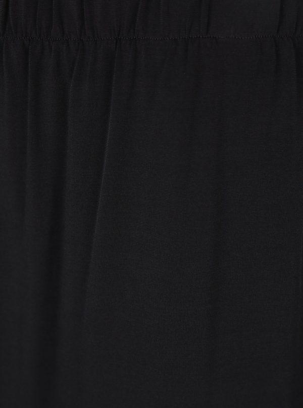 Čierna áčková midi sukňa Ulla Popken