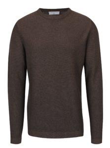 Hnedý tenký sveter Selected Homme Bruno