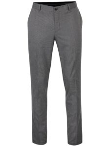 Sivé formálne nohavice Selected Homme Skinny