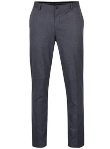 Sivomodré nohavice Selected Homme Skinny