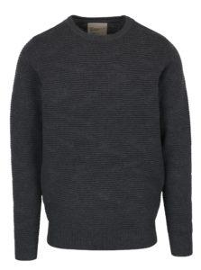 Tmavosivý sveter RVLT