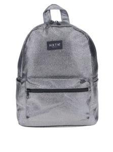 Sivý trblietavý batoh HXTN supply 12 l