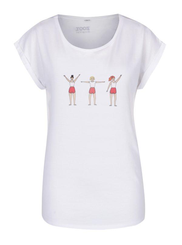 Biele dámske tričko ZOOT Originál Spartakiáda