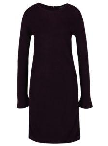 Fialové svetrové šaty Dorothy Perkins