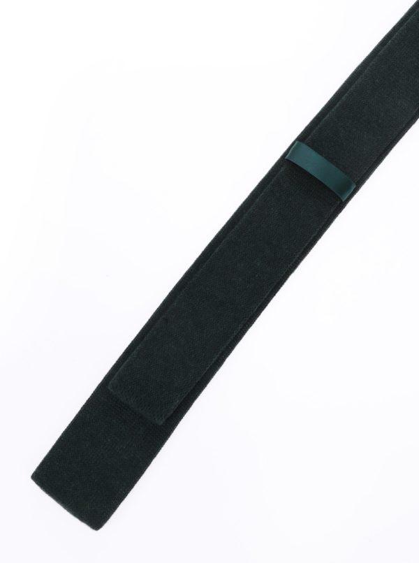 Tmavozelená vlnená kravata Selected Homme New