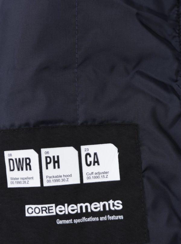 Čierna bunda s vreckami Jack & Jones Catel