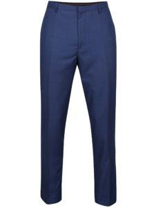 Modré slim nohavice Burton Menswear London