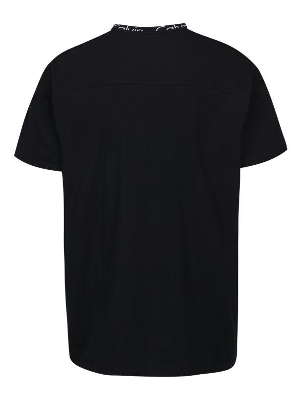 Čierne pánske tričko Calvin Klein Jeans Biro
