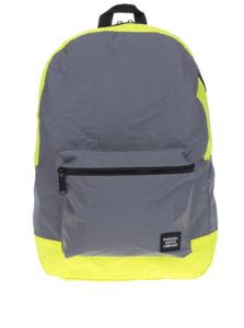 Žlto-sivý reflexný skladací batoh Herschel Packable 24,5 l