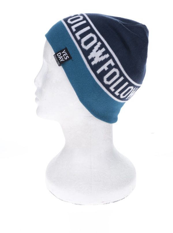 Petrolejovo-modrá chlapčenská čapica name it Manto