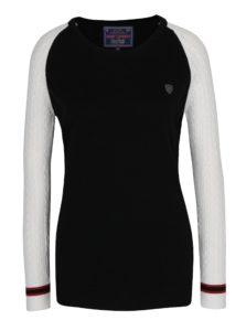 Krémovo-čierny dámsky sveter Jimmy Sanders