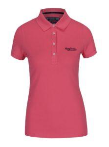 Ružové dámske polo tričko Jimmy Sanders