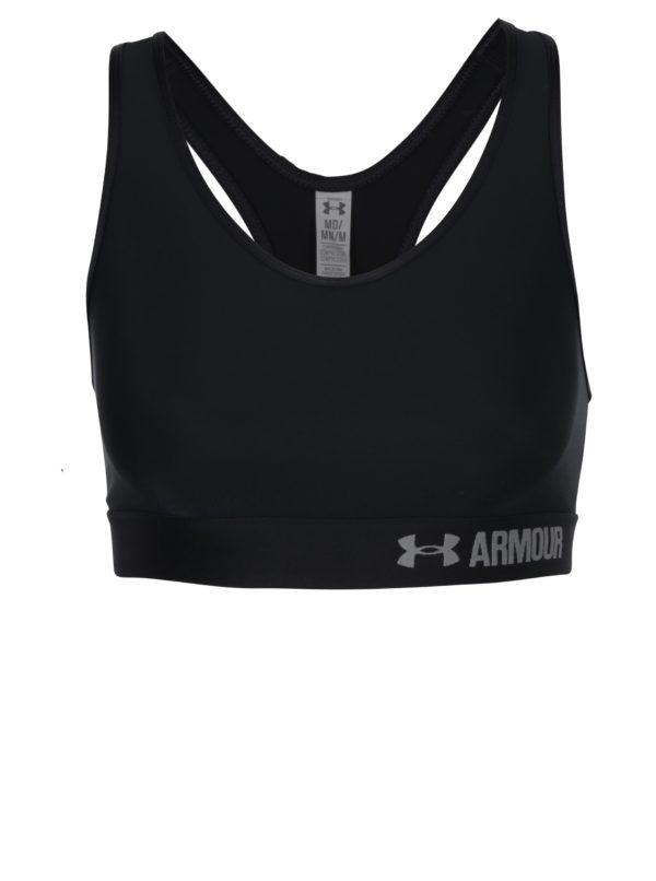 Čierna dámska športová podprsenka Under Armour
