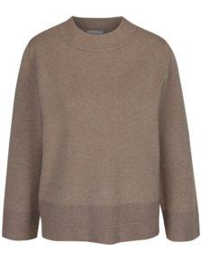 Béžový sveter so širokými rukávmi VILA Olivina