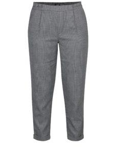 Čierno-sivé vzorované skrátené nohavice TALLY WEiJL