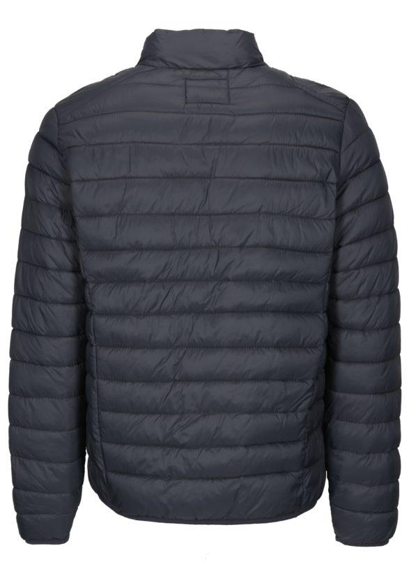 Sivá prešívaná bunda s vreckami Blend