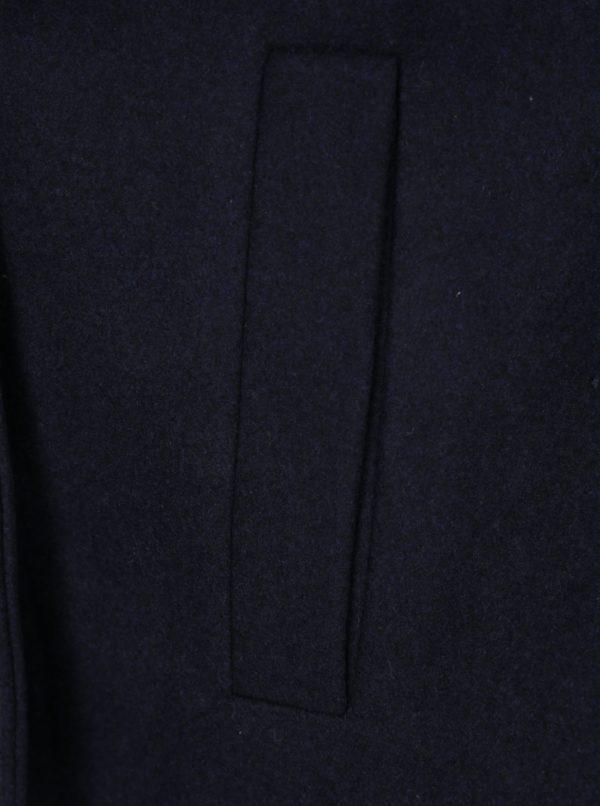 Tmavomodrý krátky kabát Noisy May Minna