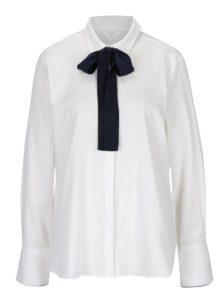 Biela košeľa s mašľou YAYA
