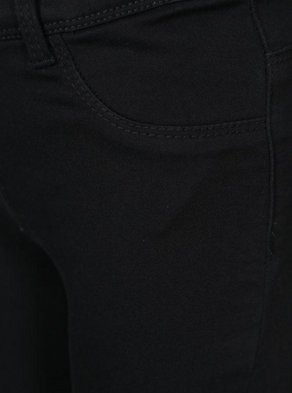 Čierne dievčenské jeggins s dvomi zadnými vreckami name it Tinna