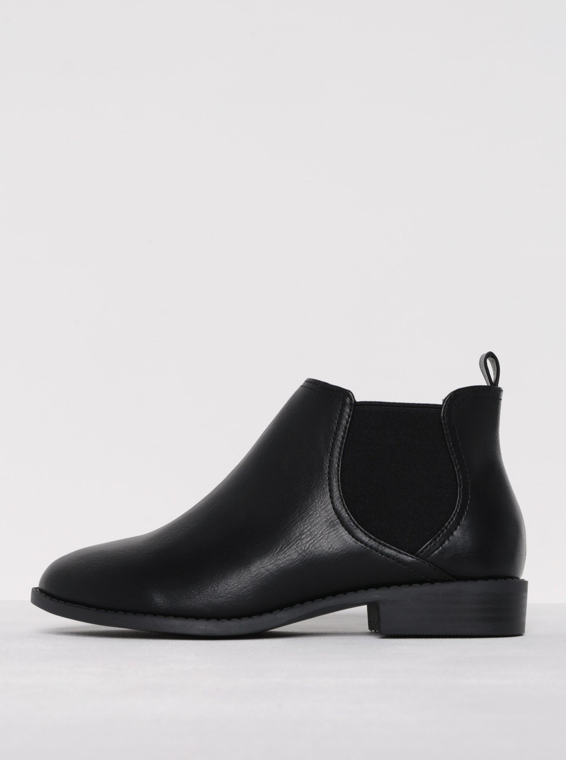 c25905329a88 Čierne členkové topánky Dorothy Perkins