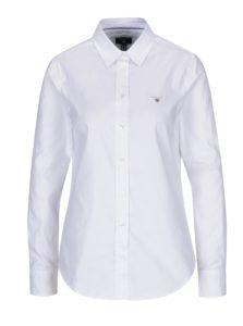 Biela dámska slim košeľa GANT