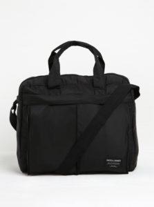 Čierna taška na notebook Jack & Jones Jones