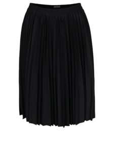 Čierna plisovaná sukňa Selected Femme Kimka