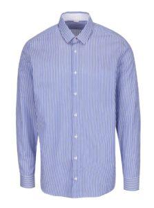 Modrá pruhovaná košeľa VAVI