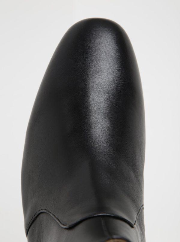 3ea85bc0a Čierne pánske kožené členkové topánky ALDO Arly | Moda.sk