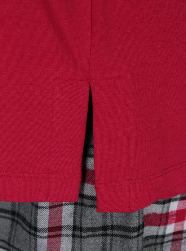 Ružová darčeková súprava pyžama a masky na spanie DKNY