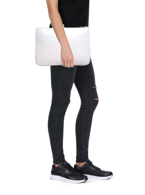 "Biely obal na notebook adidas Originals 13"""