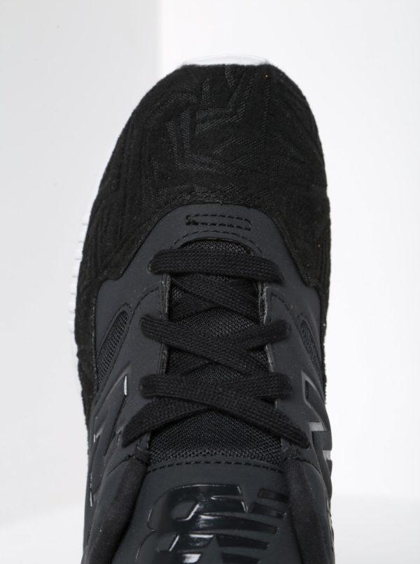 Čierne dámske tenisky so semišovými detailmi New Balance  b587dbd0807