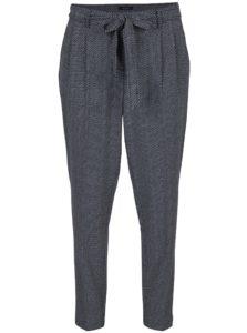 Tmavomodré vzorované nohavice Nautica